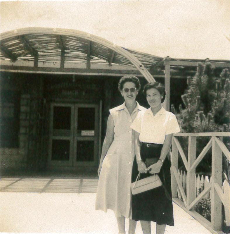 ノブとワニタ、二人の絆が看護の再建の原動力となった。