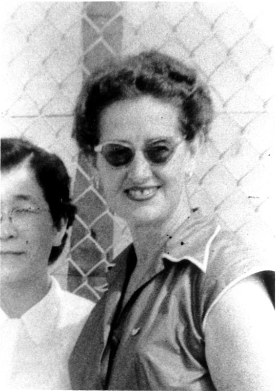 米軍看護顧問 ワニタ・ワーターワース女史